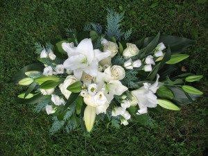 Blumengesteck für Allerheiligen