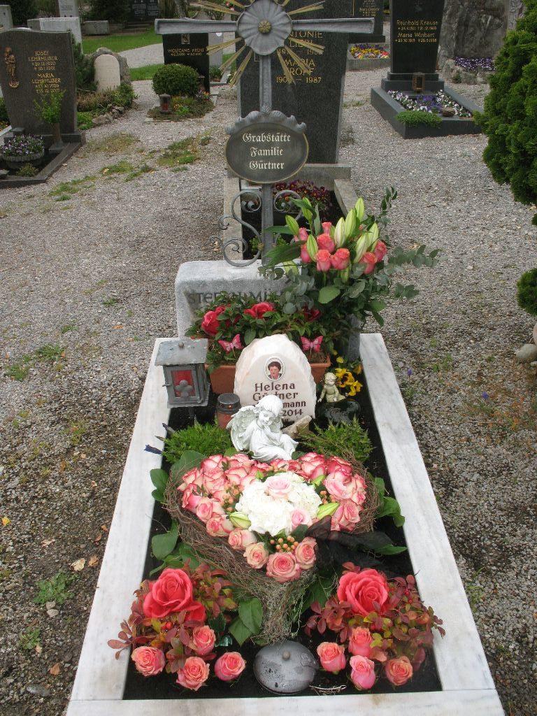 Grabpflege